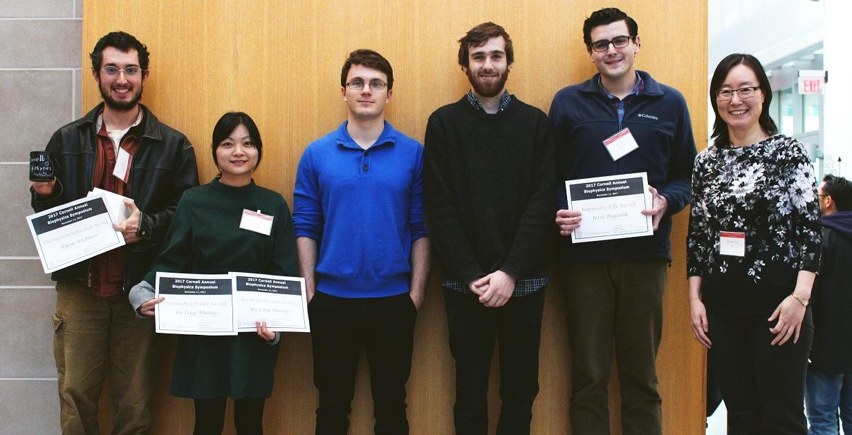 Biophysics Symposium Awardees 2017