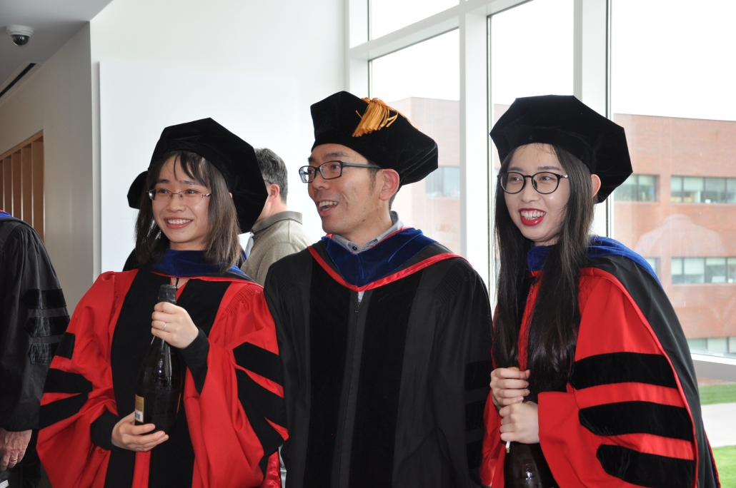 2019 Graduates from Biophysics with the DGS